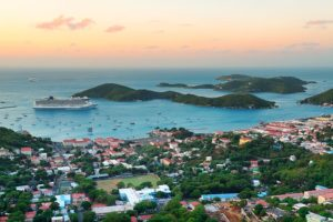 View Over Crown Bay St. Thomas
