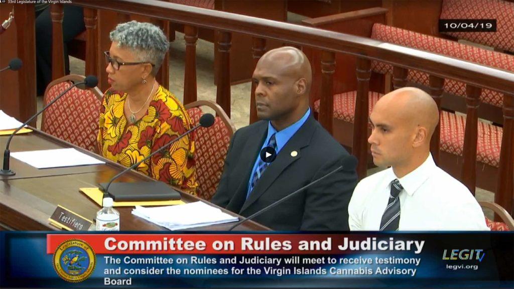VI Cannabis Advisory Board Nominees at Committee of Rules and Judiciary VI Legislature