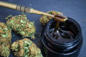 Cannabis Flower and THC extract