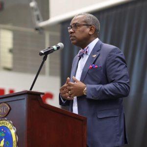 US Virgin Islands Governor Albert Bryan Jr.
